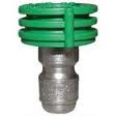 "1/4"" Quick Connect Spray Nozzle Green 25D Size 5"