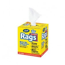 Kimberly Clark Scott Rags In A Box - White