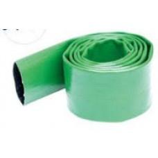 "2"" Green Layflat Discharge Hose"
