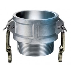 "Aluminum Part B 3"" Coupler"