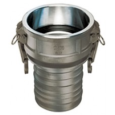"""Stainless Steel Part C 3/4"""" Coupler"""
