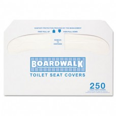 Boardwalk Premium 1/2 Fold Toilet Seat Cover 250/Sleeve 4 Sleeves/CS