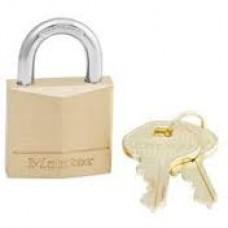 """Master Lock #130 Solid Brass 1-3/16"""" Padlock"""