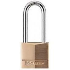 """Master Lock #140 Solid Brass 1-9/16"""" Padlock KD"""