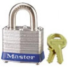 "Master Lock #3 Laminated Steel 1-9/16"" Padlock 2PK"