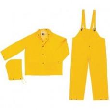 Classic 3 Piece Rain Suit - Yellow - XXXXLarge
