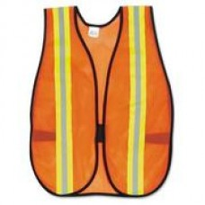 GP Poly Orange Mesh Safety Vest