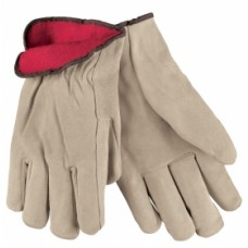 Memphis Cow Leather Fleece Lined Drivers Glove LG