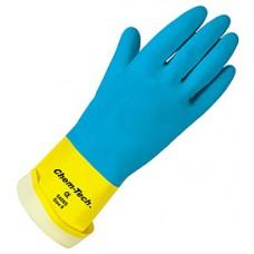 Memphis Chem-Tech Neoprene Glove Flock Lined - LG