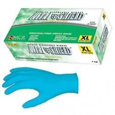 Memphis Blue Disposable Nitrile Glove 8mil Large 50/B X