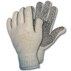 Memphis Cotton Glove White and Black Dots 1/DZ