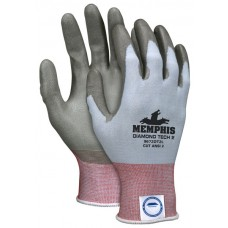 Diamond Tech 2 18 Ga DSM Dyneema Glove with PU Dip - Medium