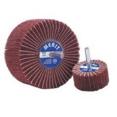 "Merit Flap Wheel 1-1/2"" X 1"" X 1/4"" 60G Alum Oxide"