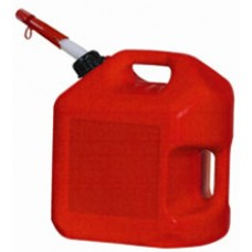 Midwest Spillproof Poly Gas Can - Red - 5 Gallon