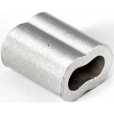 "3/32"" Aluminum Duplex Sleeve for Cable"