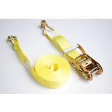 "2"" X 27' Ratchet Tie Down Strap w/J-Hook 3000#"