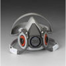3M 6000 Series Half Facepiece Respirators-Medium