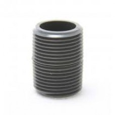 "1"" X 2"" X-Heavy Sch80 Black Nipple"