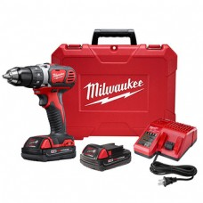 "Milwaukee M18 Compact 1/2"" Drill Driver Kit 18V"