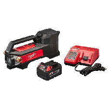 Milwaukee 18v Cordless Transfer Pump Kit (Includes Tool, Charger, and Battery)