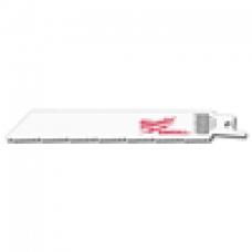 Milwaukee SUPER SAWZALL Blade 8/12T 6LG 5/PK
