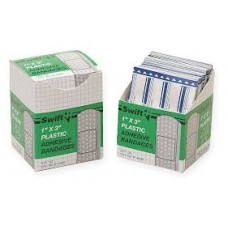 "North Safety Plastic Strips - 1"" X 3"" 100/BX"