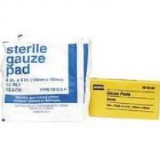 "North Safety Sterile Gauze Pads 4"" X 4"" 2/PK"