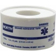 "North Safety Adhesive Tape 1""x 5YD Plastic Spool"
