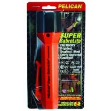 Pelican Super Sabrelite Flashlight Orange 3C