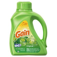 Gain Liquid Laundry Detergent 50 oz. Original Scent