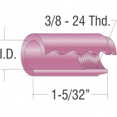 "Alumina Cup 1/4"" I.D. (10 Box) 9-20-25 Series Tig Torches"