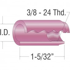 "Alumina Cup 5/16"" I.D. (10 Box) 9-20-25 Series Tig Torches"