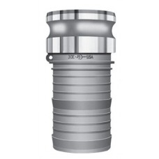 Part E Male Adapter X Hose Shank Alum 2""