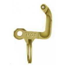 "Locking Arm For Vl Dust Cap 3"" Brass"