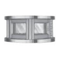 """Part TTF40WS Truck Flange Sight Glass Alum 4"""""""