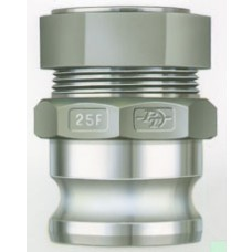 """Adapter X Tubing Compression Fitting Alum 2-1/2"""""""