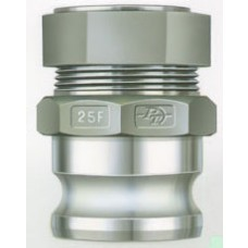 """Adapter X Tubing Compression Fitting Alum 3"""""""