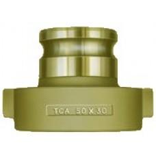 "Brass 4"" Adapter X Female 5-1/4"" Tank Car"