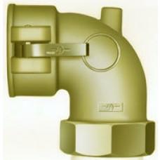 "Camlock 90? Elbow Coupler X FNPT 1-1/4"" Brass"