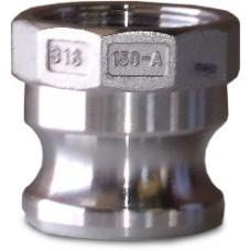 """CF100A Part A Adapter X FNPT Alum 1"""""""