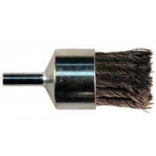 "Random Wire Knot End Brush 1"" Carbon Steel - 1/4"" Mandrel"