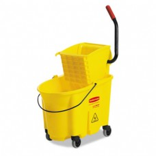 Rubbermaid 35Qt Mop Bucket with Squeezer Combo Yel