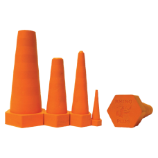 Orange Rhino Drip Proof Plug-Large Kit Fits Hose Size 24-32 4/BG