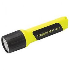 SL Flashlight 4AA LED w/White LEDs - Yellow