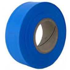 "Tape - 1-3/16""x 300' Blue Flagging Tape"