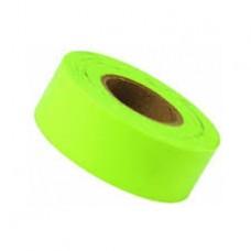 "Tape - 1-3/16""x 150' Green-Glo Flagging Tape"