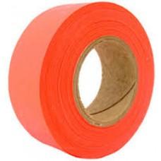 "Tape - 1-3/16""x 150' Orange-Glo Flagging Tape"
