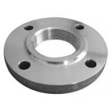 """1/2"""" T304/304L SS 150# Raised Face Threaded Flange"""