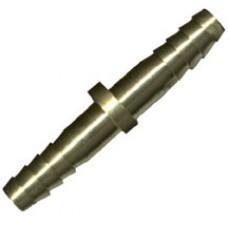 """Western Oxygen Hose Splicer 1/4"""" Barb x 1/4"""" Hose"""