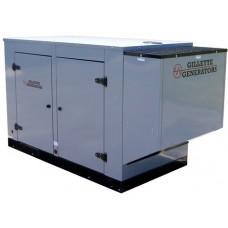Gillette 25KW LPG Fuel Engine Generator, 120/240V, 1PH, 60HZ, Set in Level 2 Sound and Weather Protected Aluminum Enclosure